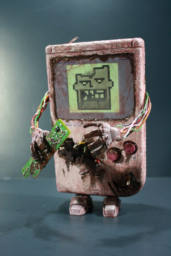 Kodykoala's Custom Zombie Gameboy - Nintendo, Gaming, Video Games