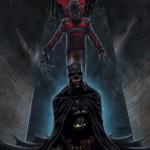 Freddy Krueger vs. Batman by Andrew Mangum - Nightmare on Elm Street Fan Art