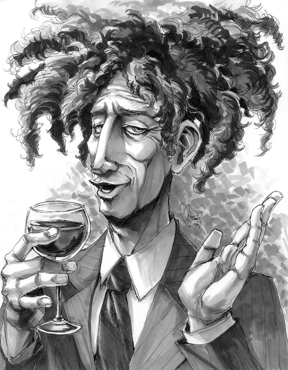 Sideshow Bob by Space Coyote - Simpsons Fanart
