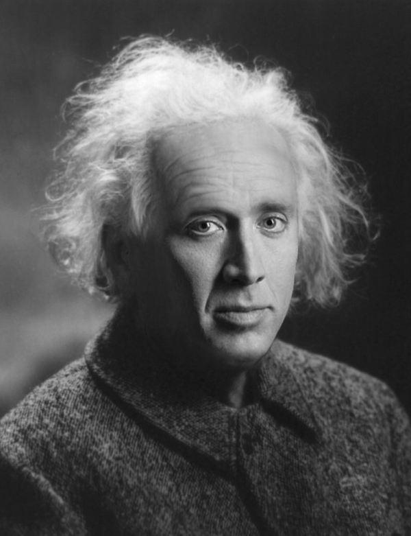 Nicolas Cage x Albert Einstein - face swap