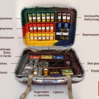 Fear and Loathing Board Game - Full Suitcase