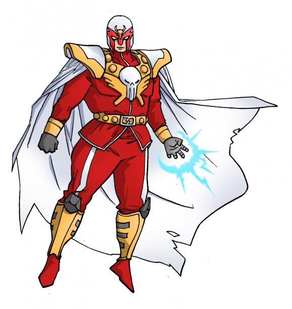 Magneto x M. Bison - Marvel vs Capcom Amalgam Universe - gaming fanart