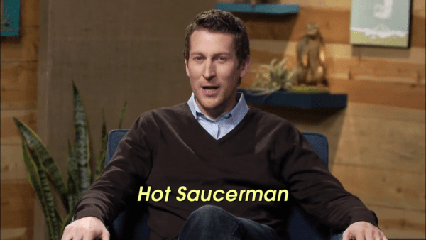 Comedy Bang Bang - Scott Aukerman - Hot Saucerman