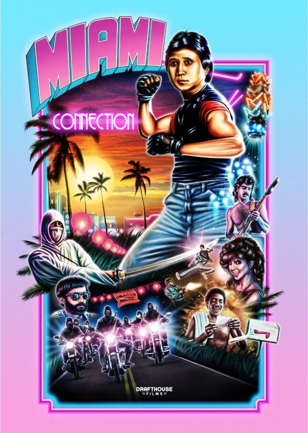 Miami Connection Poster by François Simard - Y.K. Kim, RKSS, Roadkill Superstar