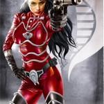 G.I. Joe's The Baroness in red by Greg Horn - Cobra, Art, Illustration