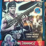 Sybil Dannings's Adventure Video: RUSH - vhs, bad movies, Gordon Mitchell, Italian