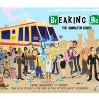 Breaking Bad: The Animated Series by Ian Glaubinger - fanart, poster, print, artwork