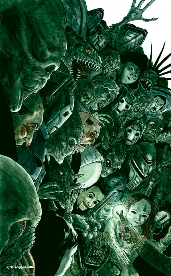 Doctor Who Carnival of Monsters cover by ~cpwilsoniii - comics, comic books, art, illustration