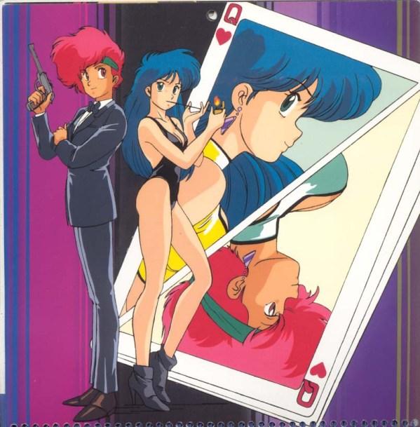Dirty Pair Hollywood Calendar: James Bond - Kei, Yuri, anime, manga, Kobayashi Satoko