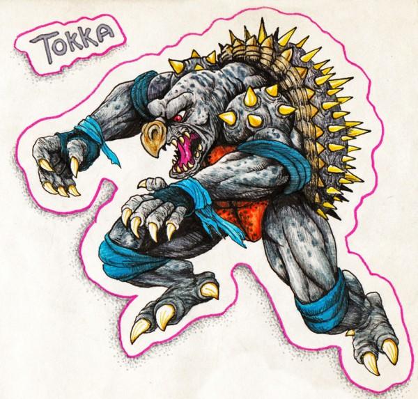 Tokka by Warner Emir Cortez - TMNT, Teenage Mutant Ninja Turtles