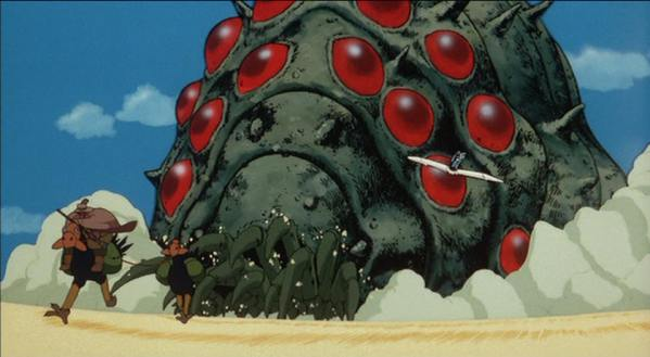 Naussica Valley of the Wind - Hayao Miyazaki, Anime