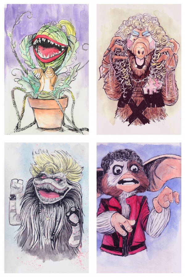 1980s Puppets x Music Icons - Gremlins, Little Shop of Horrors, ALF, Critters