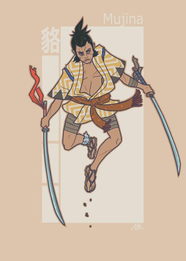 Jidaigeki X-Men - Wolverine by genesischant - Samurai Period-Drama