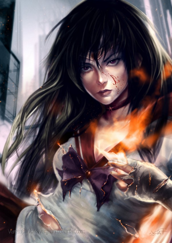 Sailor Mars by VargasNi - Sailor Moon Anime Manga FanArt