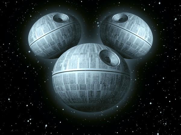 Disney Death Star by GENZOMAN - Star Wars, Mickey Mouse, Logo, Mashup