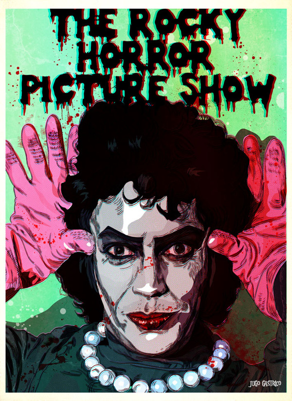 Rocky Horror PIcture Show - Dr. Frank-N-Furter, Tim Curry Poster Art