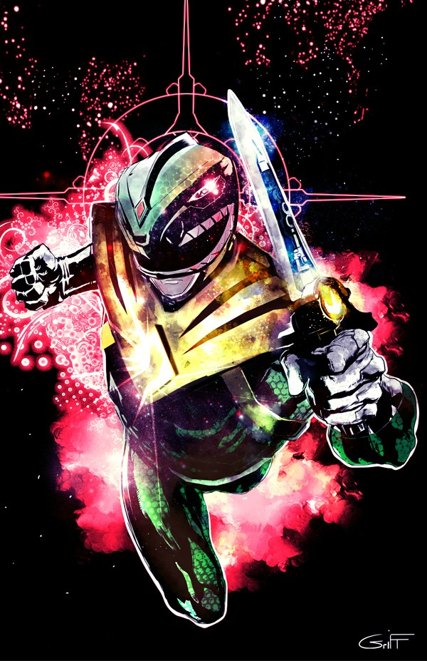 Go Green Ranger Go [Power Rangers Art] Friday The 13th Quotes For Facebook