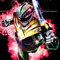Green Ranger, Dragonzord, mighty morphin power rangers, super sentai, Zyuranger