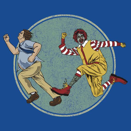 Fasf Food - Ronald McDonald Zombie Art by ShantyShawn