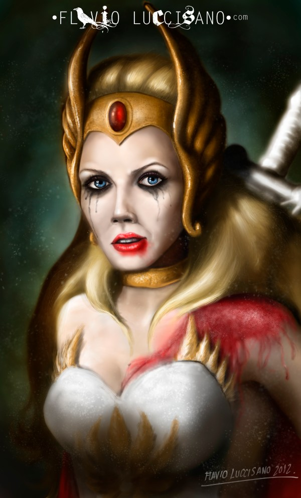 She-Ra: Princess of Power by Flavio Luccisano - He-Man, Masters of the Universe