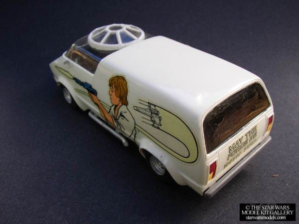 Luke Skywalker Custom Van Model Kit - Star Wars