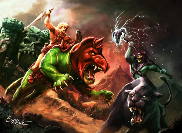 The Eternal Struggle by Espen Grundetjern - He-Man Art