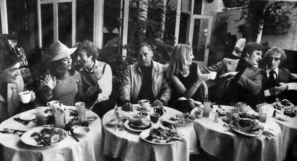 Photo: Mel Brooks and the Cast of Young Frankenstein (1974)