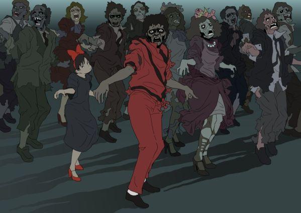 Kiki's Delivery Service x Michael Jackson's Thriller - Hayao Miyazaki Anime Studio Ghibli