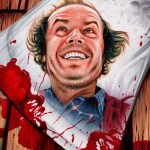 Shining Weapon of Choice by Trev Murphy - Jack Torrance, Jack Nicholson, Stanley Kubrick