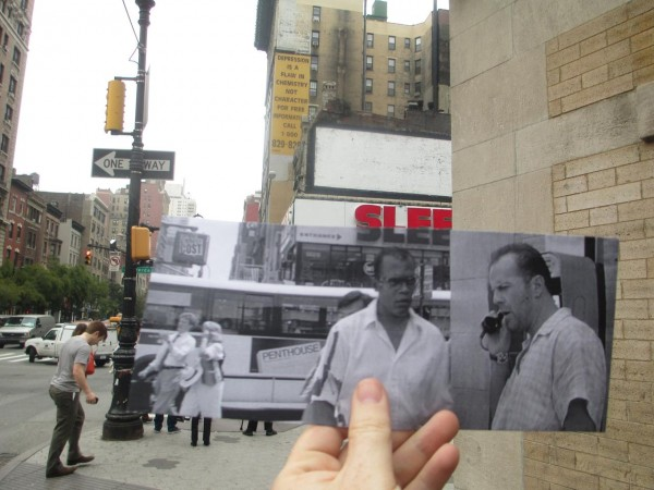 Then and Now Photo: Die Hard With a Vengeance - Bruce Willis and Samuel L Jackson