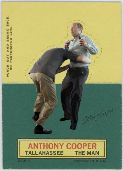 Anthony Cooper - LOST Baseball Card -Kevin Tighe