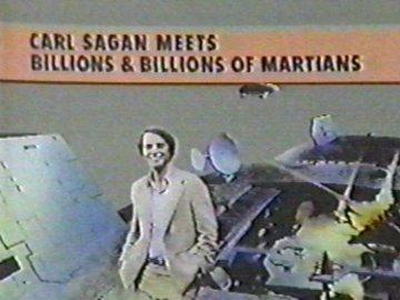 Carl Sagan Meets Billions and Billions of Martians