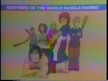 Mothers of the World Paddle Rambo