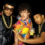 "Photo: ""Weird Al"" Yankovic Hangin' with Run-D.M.C."