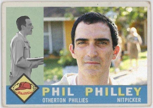 Phil - LOST Baseball Card - Patrick Fischler