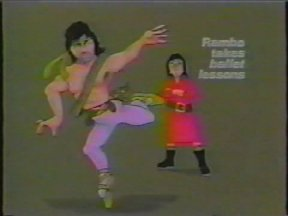 Rambo Takes Ballet Lessons