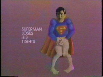 Superman Loses His Tights
