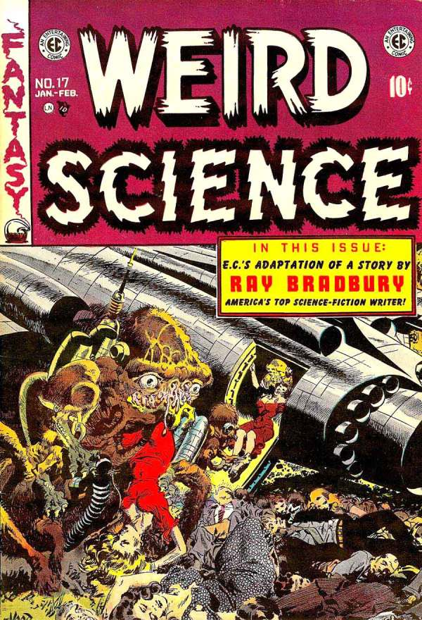 Weird Science 17 Cover Art by Wally Wood