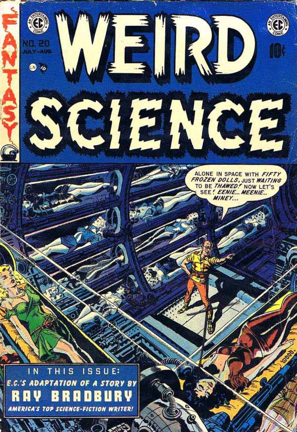 Weird Science 20 Cover Art by Wally Wood