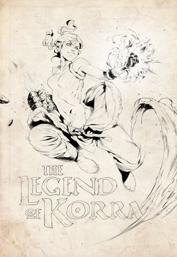 Legend of Korra by 2ngaw - Avatar the Last Airbender