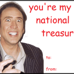 Nicolas Cage Valentine's Day Card Collection