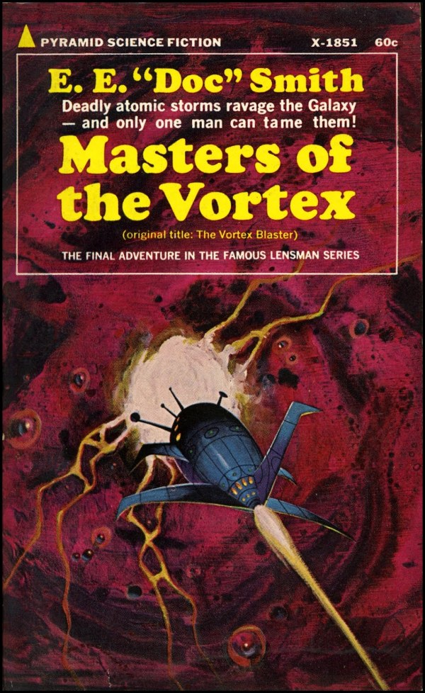 masters of the vortex - e.e. doc smith - cover by jack gaughan