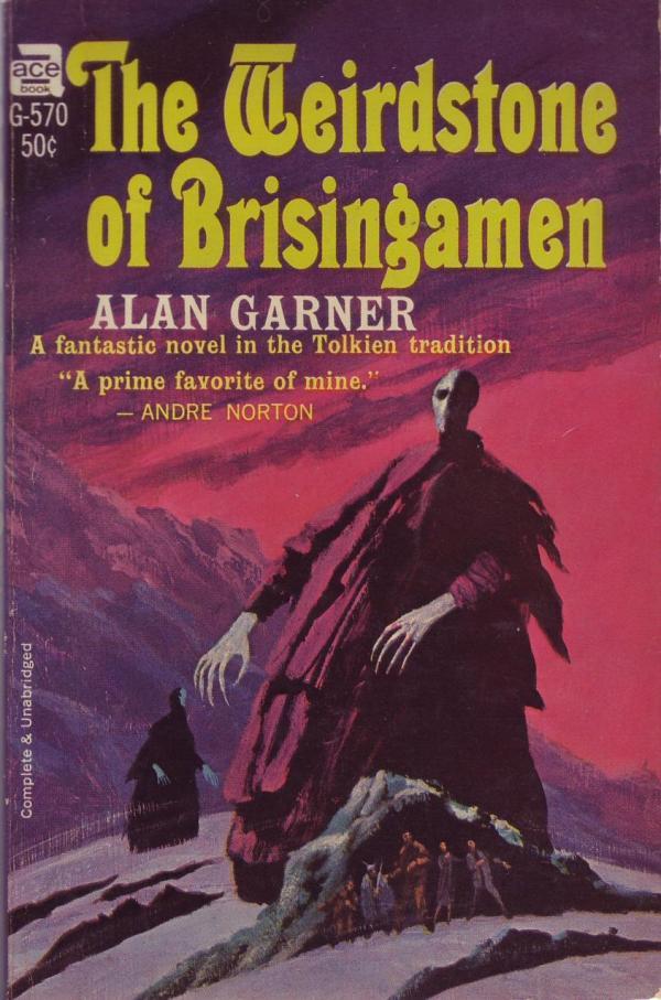 Weirdstone of Brisingamen - Alan Garner - art by jack gaughan