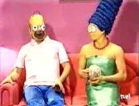 Weird Spanish Live Action Spoof The Simpsons