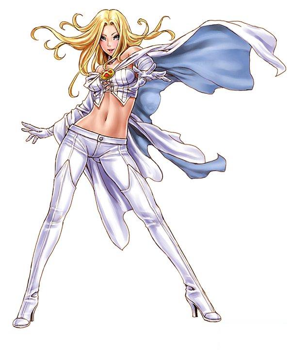 Bishoujo Style Emma Frost by Shunya Yamashita - White Queen, Marvel Comics, X-Men, Anime, Manga