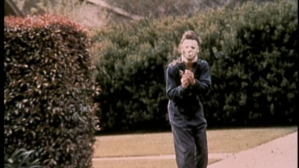 halloween behind the scenes - nick castle as michael myers
