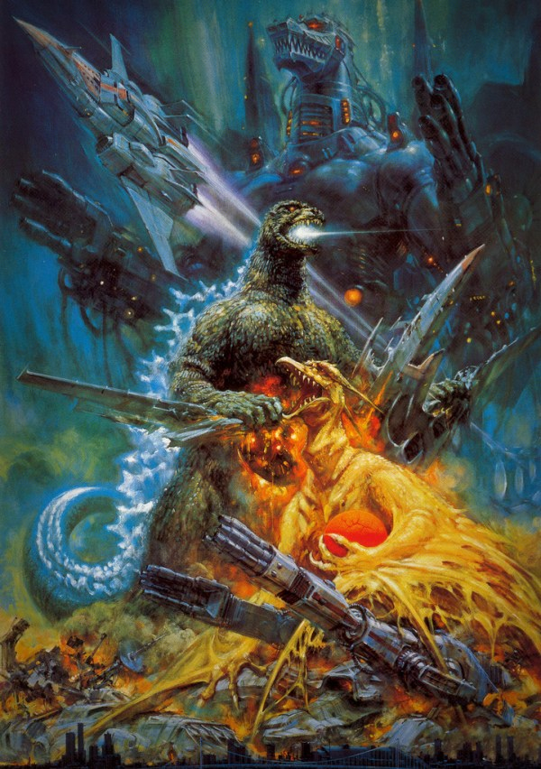 Godzilla vs. Mechagodzilla (Toho, 1993) - Noriyoshi Ohrai Painting
