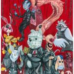 Hellraiser x Winnie the Pooh Mashup by Picasso Dular