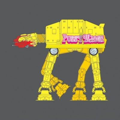 Pussy Wagon AT-AT - Star Wars, Kill Bill