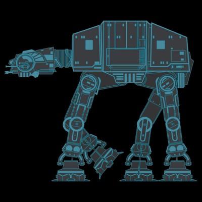 Tron Light Bike AT-AT - Star Wars
